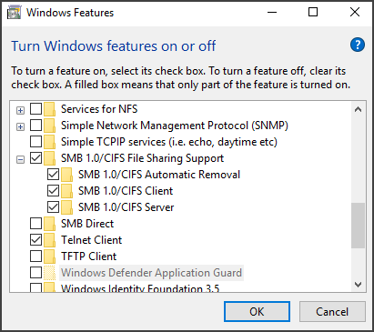 ShareCenter DNS and Windows 10 FAQ