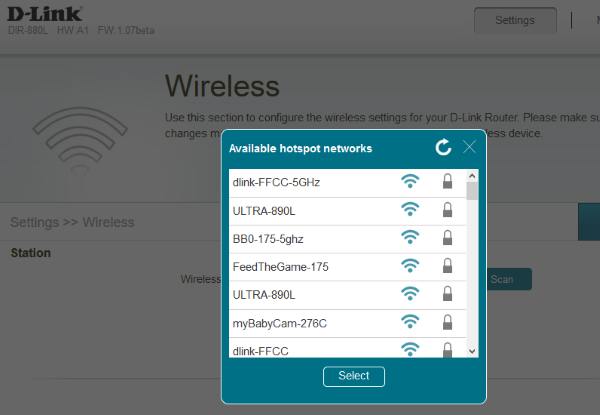 How to set up wireless Bridge mode on supported D-Link