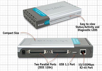 DP-300U Print Server